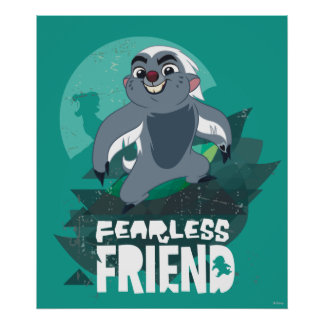 Lion Guard | Fearless Friend Bunga Poster