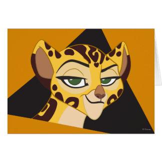 Lion Guard   Fuli Character Art Card