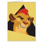 Lion Guard | Kion Character Art Card