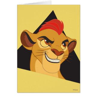 Lion Guard   Kion Character Art Card