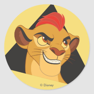 Lion Guard | Kion Character Art Classic Round Sticker