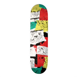 Lion Guard | Kion Expressions Pattern Skateboard Deck