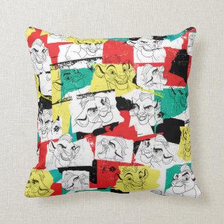 Lion Guard | Kion Expressions Pattern Throw Pillow