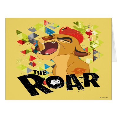 Lion Guard | Kion Roar Card