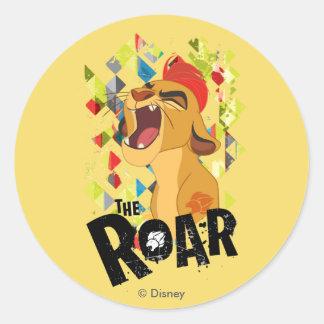Lion Guard | Kion Roar Classic Round Sticker