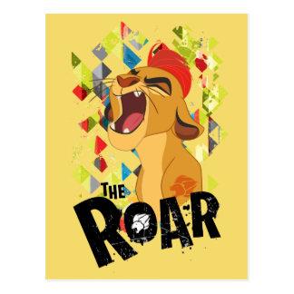 Lion Guard | Kion Roar Postcard