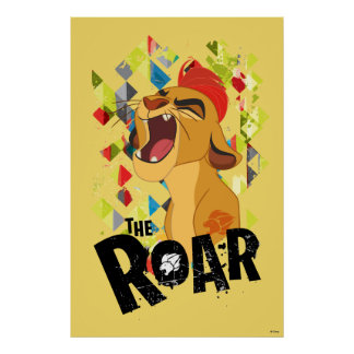 Lion Guard | Kion Roar Poster