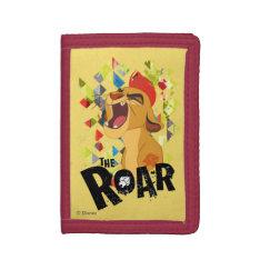 Lion Guard | Kion Roar Trifold Wallet at Zazzle