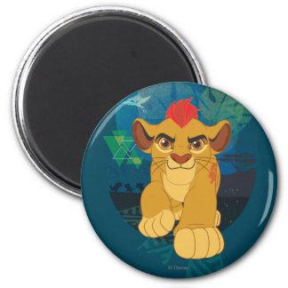 Lion Guard | Kion Safari Graphic 2 Inch Round Magnet