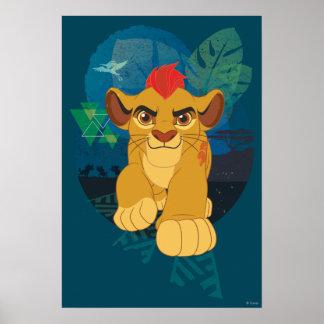 Lion Guard | Kion Safari Graphic Poster
