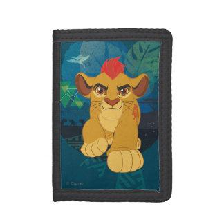Lion Guard   Kion Safari Graphic Trifold Wallet
