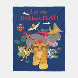 Fleece Blanket, 50'x60' with Disney Christmas Ornaments design