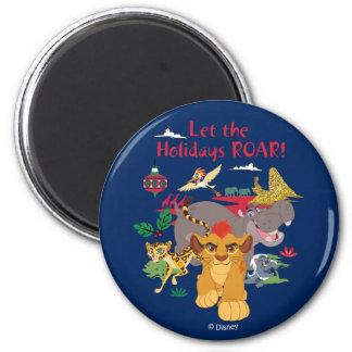 Lion Guard | Let The Holidays Roar Magnet
