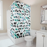 Lion Guard | Mosaic Pattern Shower Curtain