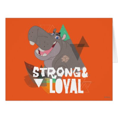 Lion Guard | Strong & Loyal Beshte Card