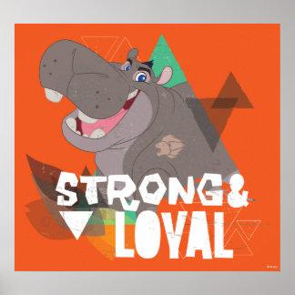 Lion Guard | Strong & Loyal Beshte Poster