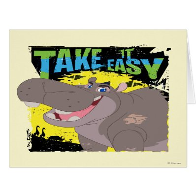 Lion Guard | Take It Easy Beshte Card