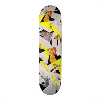 Lion Guard | Triangle Pattern Skateboard Deck