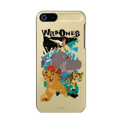 Lion Guard | Wild Ones Metallic iPhone SE/5/5S Case