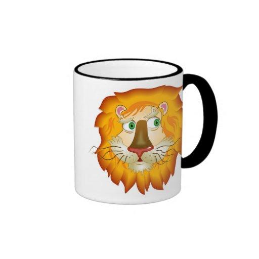 Lion Head Coffee Mug