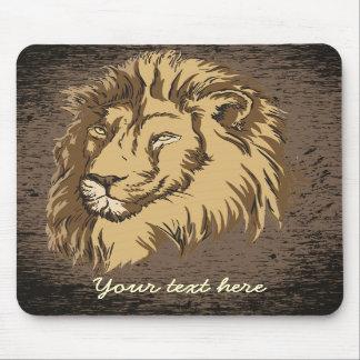 Lion head custom mousepad