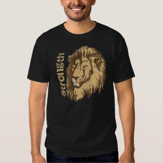 Lion head custom t-shirt- Strength Tee Shirt
