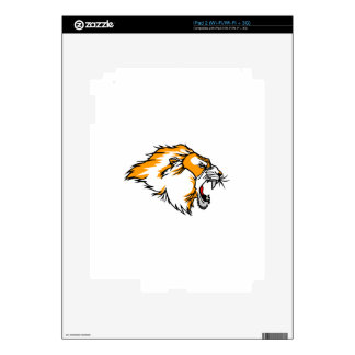 Lion Head Decals For iPad 2