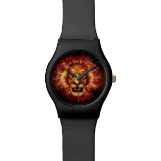 Lion Head Face Strenght Watch