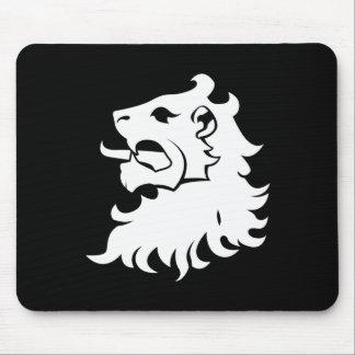Lion Head Heraldry Mousepad