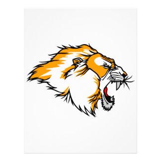 Lion Head Letterhead