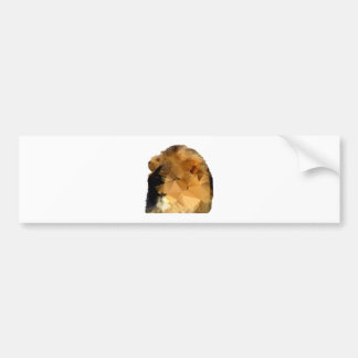 Lion Head  Low Poly Vector Style Bumper Sticker