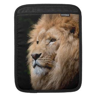 Lion head male beautiful photo ipad sleeve