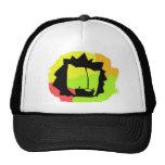 lion head mesh hats