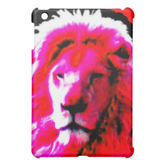 Lion Head Pink Case For The iPad Mini