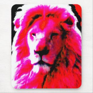 Lion Head Pink mousepad