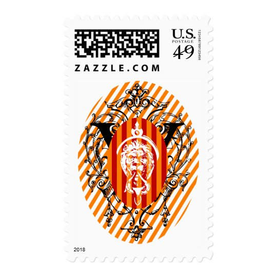 Lion Head Postage