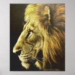 Lion Head Print