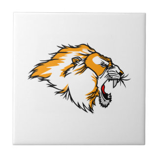 Lion Head Tile