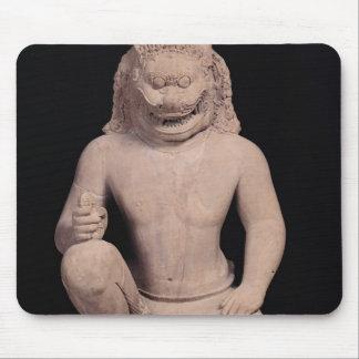 Lion-headed guardian, Banteay Srei Style, c.967 Mouse Pad