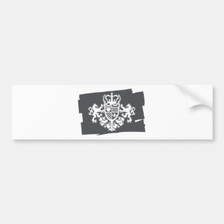 LION_HEART BUMPER STICKER