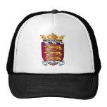 Lion Heart Crest Mesh Hat