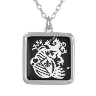 LION_HEART SILVER PLATED NECKLACE