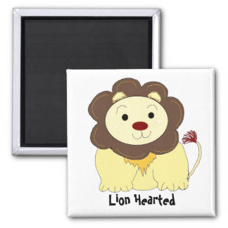 Lion Hearted Magnet