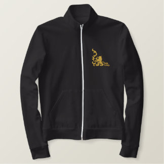 Lion Heraldic Embroidered Jacket