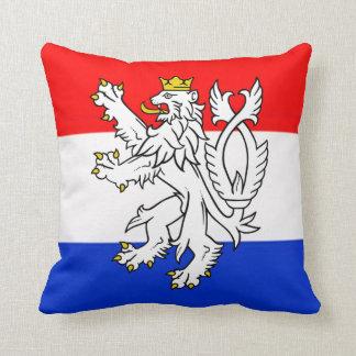 Lion Heraldry Throw Pillow