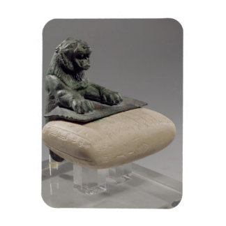 Lion holding a Hurrian foundation tablet, c.2150 B Magnet