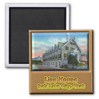 Lion House Salt Lack City Magnet