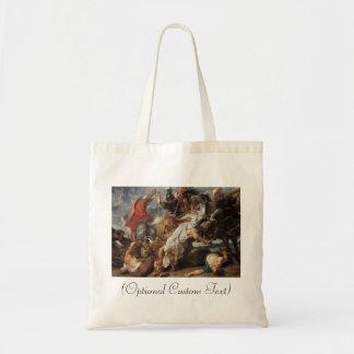 Lion Hunt Budget Tote Bag