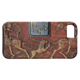 Lion Hunt, plaque from a Byzantine casket, 11th ce iPhone SE/5/5s Case
