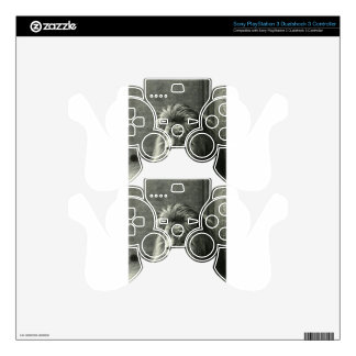 Lion Illustration Decal For PS3 Controller